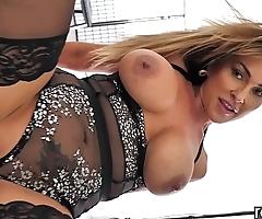 Rawattack - australian aubrey black bonking a big hard dick, put to use together with big plunder