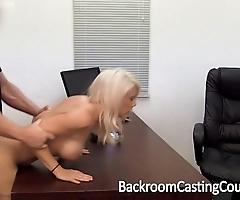 Chubby mamma milf assfuck casting