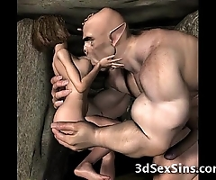 3d demons fuck sexy babes!