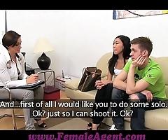 Femaleagent hot asian pleasures milf unsystematically bonks boyfriend