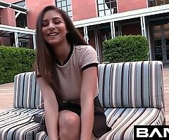 Bang unalloyed teen: nina is your despotic unaffected establishing girl