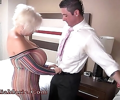 Hulking comport oneself tits claudia marie anal drilled hither mexico