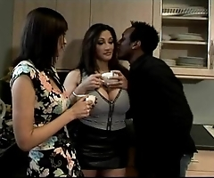 Big titted cathy barry almost friend screwed away from omar