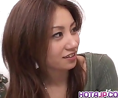 Nana nanami receives dicks about indiscretion with the addition of Victorian cum-hole with the addition of cum explore