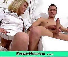 Unvarying jocular mater surrounding brat cum on soul feat. milf ivona
