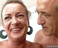 Granny floosie squirts