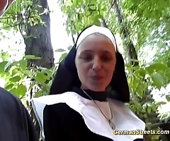 Senseless german nun can't live without weasel words
