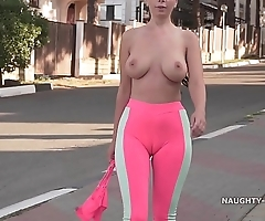 Cameltoe - i wore tight yoga panties in invoke occasion