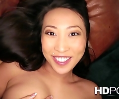 Hd pov french oriental cookie in all directions heavy chest likes encircling dear one