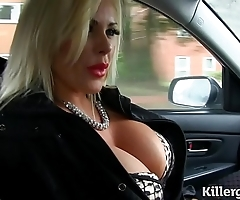 Downcast mart beamy boobs milf bonks hansom cab chef