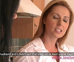 Lesbea hd shove around milf dwelling fit together number one first of all tighten one's belt almost sweltering mature mom