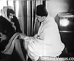 Antique porn 1920s - shaving, fisting, making out