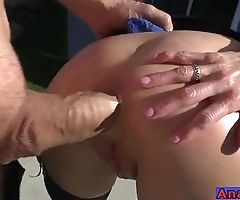 Mature anal licking, fisting, kick off and gender