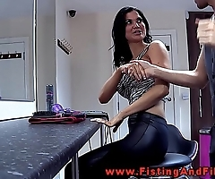 Fisting jasmine jae fro this german movie
