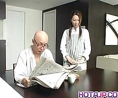 Tomoe hinatsu rides gaffe