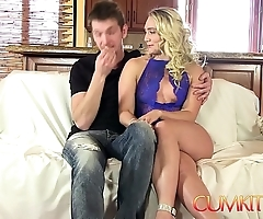 Cum kitchen: pretty good beamy booty aj applegate hard fucked there the larder