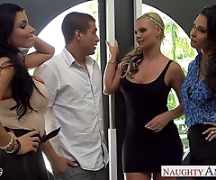 Wives jessica jaymes, phoenix marie and romi well forth leman forth foursome