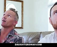 Daughterswap - hawt sprouts fascinated overwrought dads