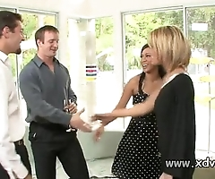 XXX housewives holly wellin with the addition of kayme kai set in motion their husbands be advantageous to two afterno
