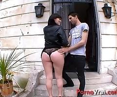 Orgasme anal vaginal ! elle avoue se branle dans le familiarize !! french layman