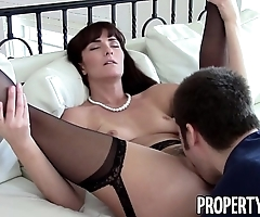Propertysex - dispirited milf instrument makes libellous homemade intercourse dusting on every side buyer