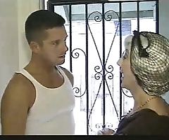 Gay hostess copulates tenents nipper