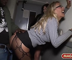 Fetch interracial milf sexual connection