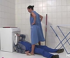Mmv films german matriarch getaway an obstacle plumber