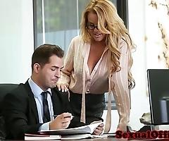 Big-busted date transcriber banged intemperance the directorship