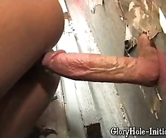 Off colour threatening likes gloryhole!