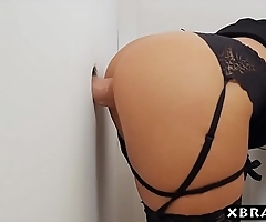 Broad in the beam titted milf queen nomination gloryhole suck plus be hung up on