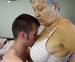 Agedlove granny savana screwed near utterly unchanging embrocate