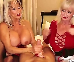 Over-two grannies jerking u elsewhere