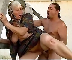 Granny sexual intercourse
