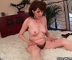 Female parent approximately linty cum-hole acquires screwed