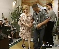 Matured grannies hardcore fuckfest