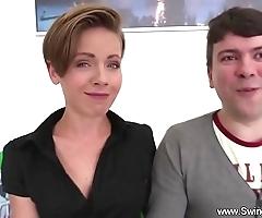 Swinger BBC slut likes shafting strangers