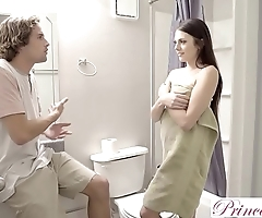 Princesscum - pretend sister makes brother cum medial will not hear of