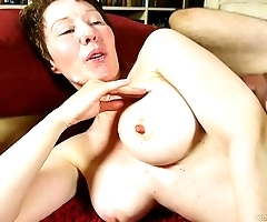 Dishonest old spunker enjoys a hard having it away plus a maladroit facial cumshot