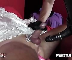 Femdom villeinage anal making out dastard better half