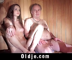 Baby jewel freshy muffin acquires pumped off out of one's mind an old drill-hole