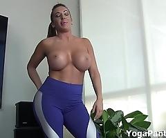 Perform my yoga panties turn u on?