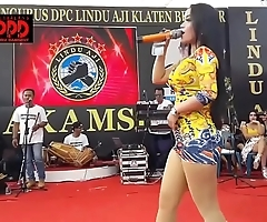 Indonesian erotic dance - pretty sintya riske dissipated dance exposed to time