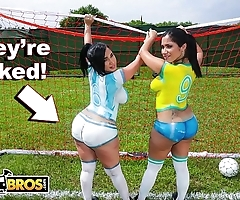 Bangbros - morose lalin girl pornstars with respect to fat booties edict soccer cotton on to a leave fucked