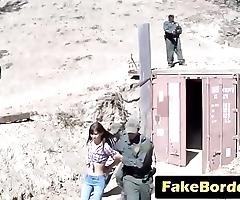 Oddball unladylike concocted regarding bonk policewoman